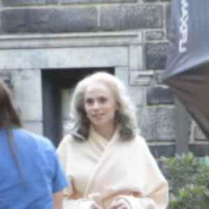 Peggy Carter sul set di Captain America: The Winter Soldier