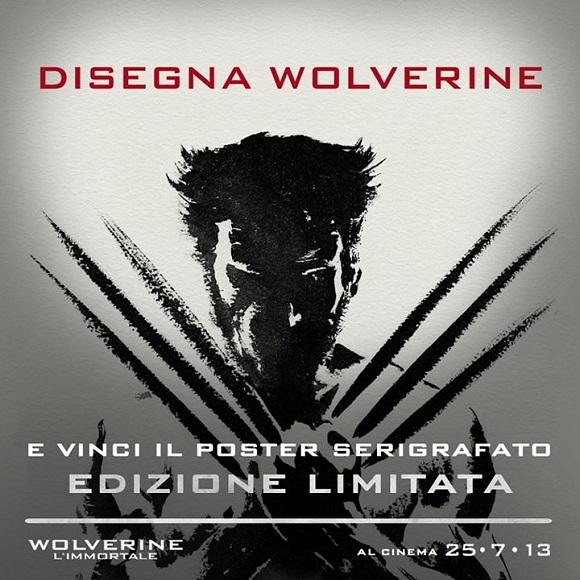 """Contest per disegnatori in occasione dell'uscita del film """"Wolverine - l'immortale"""""""