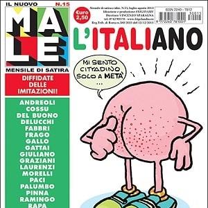 È in edicola Il Nuovo Male n.15, mensile di satira e idee diretto da Vincenzo Sparagna