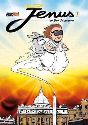 Jenus di Nazareth, il fenomeno virale dell'anno, in volume per Magic Press