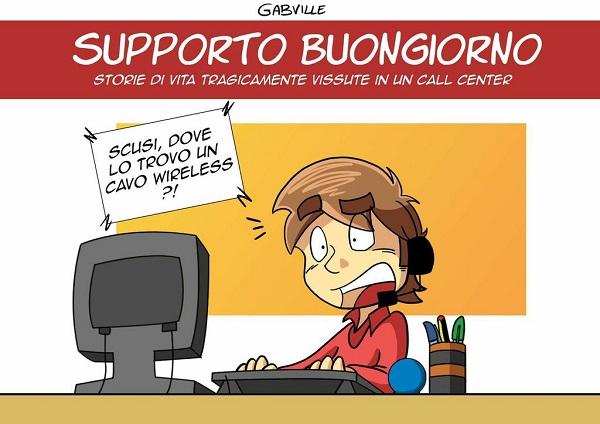 """Shockdom presenta: """"Supporto Buongiorno"""", il fumetto che racconta i call center"""