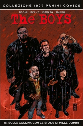 The boys #18 cover