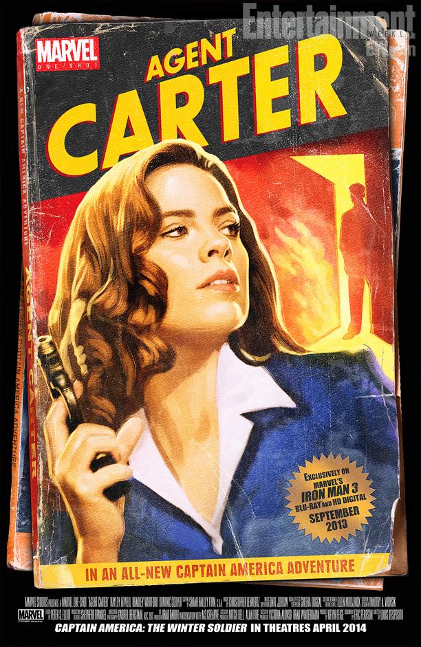 Un poster per il corto di Peggy Carter
