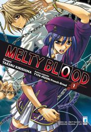 Disponibile lo sfoglia on-line del nuovo manga Star Comics: Melty Blood