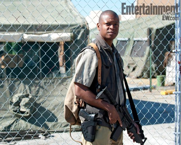 The Walking Dead: prima immagine Bob Stookey