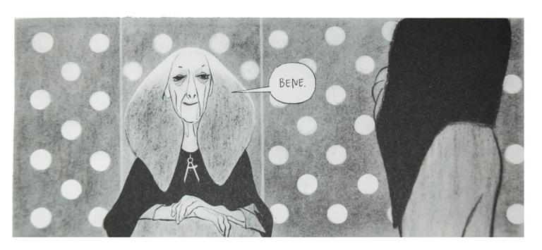 """""""L'Intervista"""": il futuro in toni di grigio visto da Manuele Fior"""