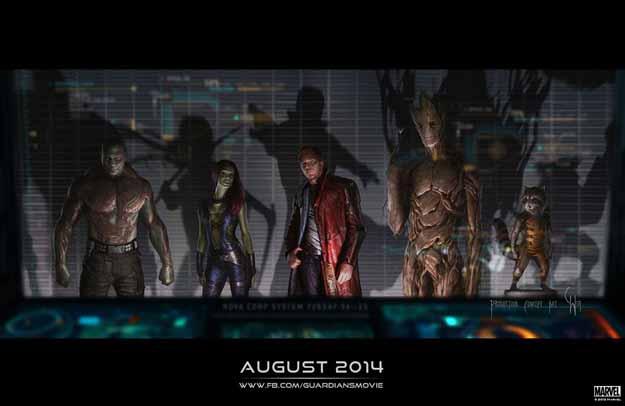Guardians of The Galaxy: Marvel Studios annuncia inizio produzione