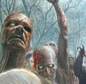 The Walking Dead: un poster di Alex Ross