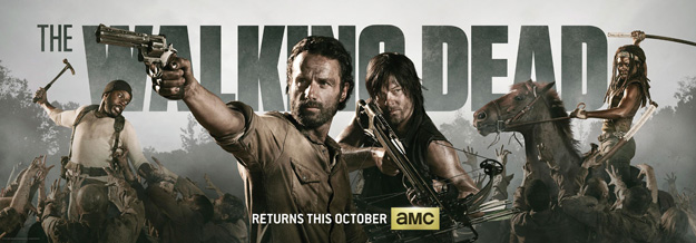 The Walking Dead: un banner per la quarta stagione