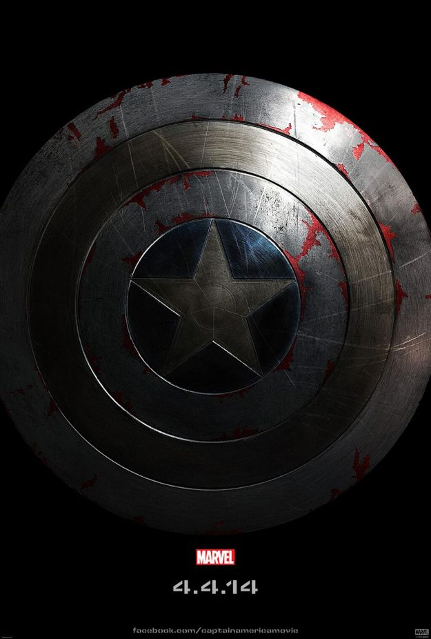 Il teaser poster di Captain America: The Winter Soldier