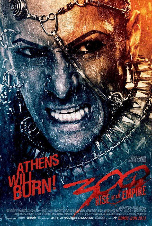 Quarto poster per 300: Rise of An Empire