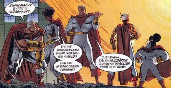 Supreme, Alan Moore rende omaggio alla Silver Age con il suo Superman