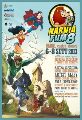 Torna la magia di Narnia Fumetto: dal 6 all'8 settembre Narni capitale italiana del fumetto