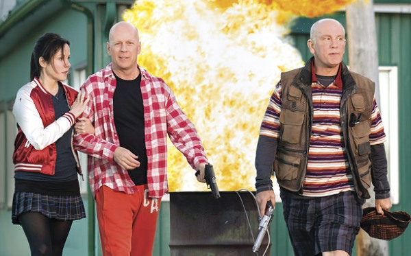 Tornano Bruce Willis e le spie in pensione in Red 2