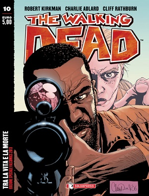 """Variant cover per """"The Walking Dead #10"""" in esclusiva a Falcomics 2013"""