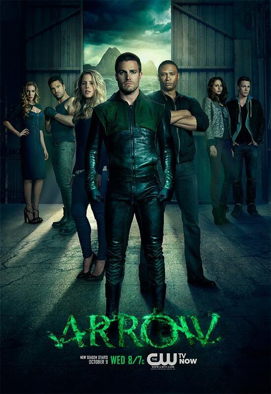 Arrow: poster e banner seconda stagione