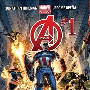 Marvel Now!: Avengers #1: i Vendicatori di Hickman e Opena ripartono dallo spazio