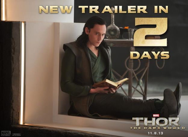 Nuova immagine di Loki da Thor: The Dark World