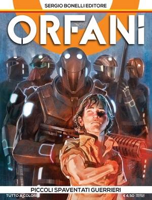 """Il trailer ufficiale di """"Orfani"""", la prima mini-serie a fumetti a colori della Sergio Bonelli Editore_Notizie"""