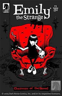 Kealan O'Rourke riscrive Emily The Strange
