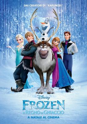 Frozen - Il Regno di Ghiaccio: il poster definitivo italiano