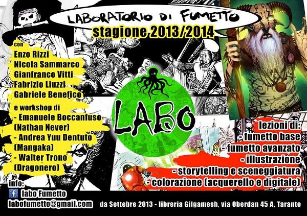 LABO FUMETTO STAGIONE 2013-2014