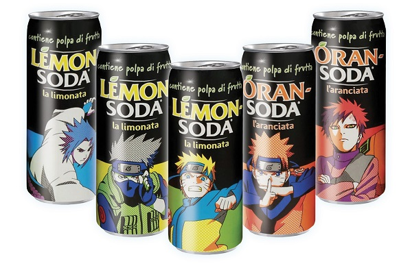 Naruto conquista Lemonsoda e Oransoda