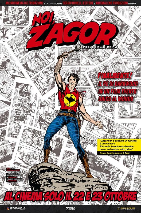 """""""Noi Zagor"""": i segreti dell'eroe a fumetti in una nuova clip del film di Riccardo Jacopino"""