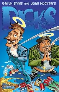La copertina del volume Dicks. © Avatar Press