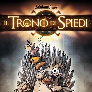"""Dentiblù presenta """"Il Trono di Spiedi"""", parodia della serie """"Il trono di spade"""" di George R. R. Martin"""