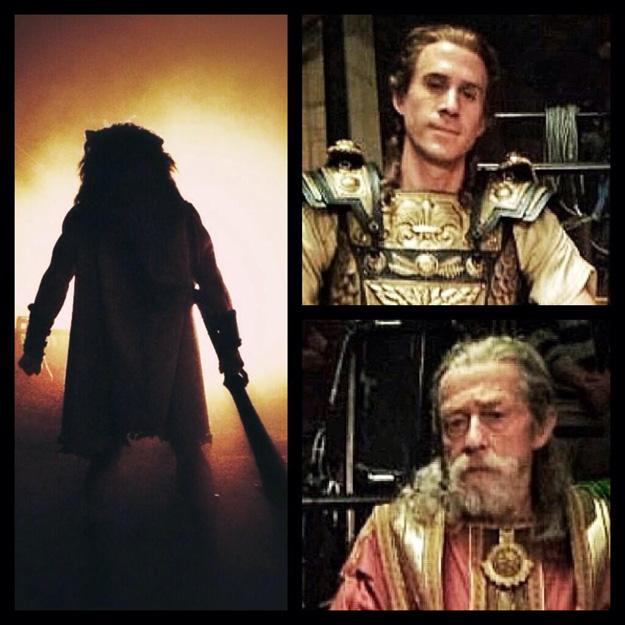 Hercules: prime immagini Ralph Fiennes e John Hurt