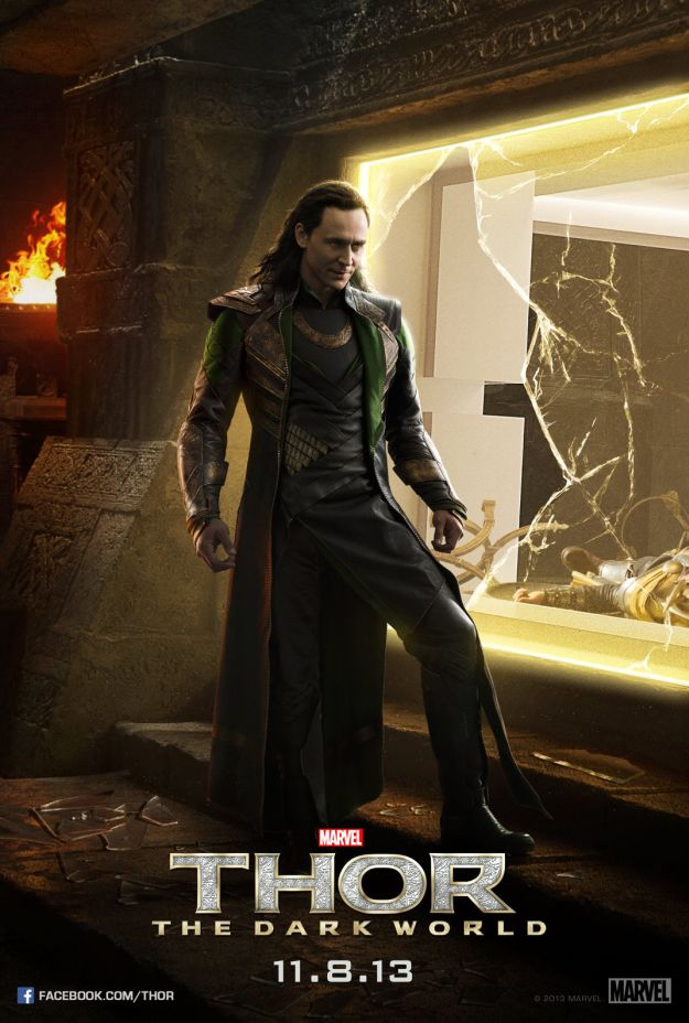 Thor: The Dark World - Nuovo poster di Loki