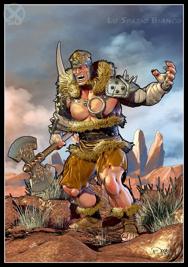 Sabretooth, disegno e colori di Davide Corsi