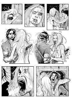 Un maestro del fumetto tra i maestri della notte: Paolo Bacilieri disegna Dampyr