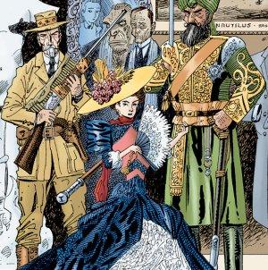 I supereroi vittoriani di Alan Moore nel primo volume della Lega degli Straordinari Gentlemen