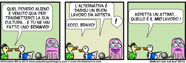 Intervista a Christian Mirra: fumetti e webcomics, storie tra l'etica e la politica