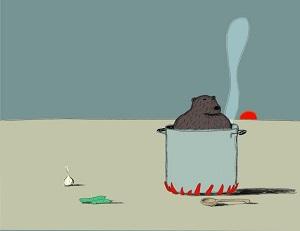 """""""La parola al silenzio"""": mostra di illustrazioni eloquenti di Guido Scarabottolo"""