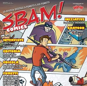 Il nuovo numero di Sbam! Comics è online