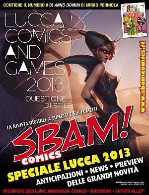"""È online lo speciale Sbam! Comics """"Lucca Comics & Games"""""""