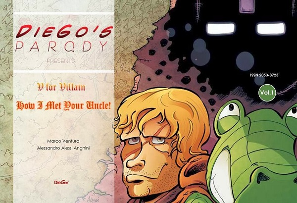 Autoproduzioni MDV a Lucca Comics 2013: Norby, Shadows e V For Villain