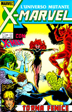 X-Marvel #1 - Ed. Play Press