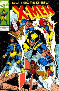 Gli Incredibili X-Men #0 - Marvel Italia. Copertina di Pino Rinaldi