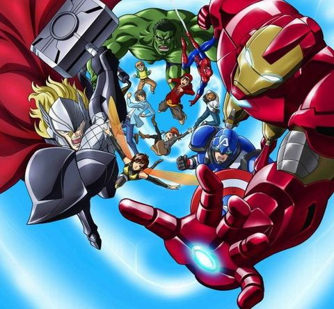 Marvel annuncia serie anime di The Avengers