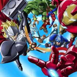 Marvel annuncia serie anime di The Avengers