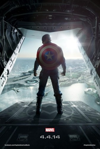 Il poster di Captain America: The Winter Soldier