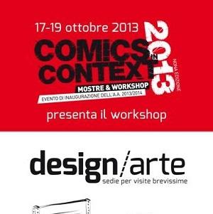 Workshop gratuito e mostre al Comics in Context 2013