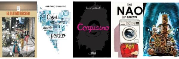 """Lo Spazio Bianco Consiglia: speciale """"Lucca Comics & Games 2013"""""""