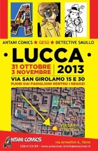 """Antani Comics anche quest'anno """"fuori"""" Lucca Comics con ospiti d'eccezione"""