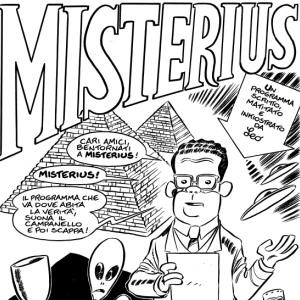 Misterius – Speciale Scienza: il primo fumetto matematico di Leo Ortolani