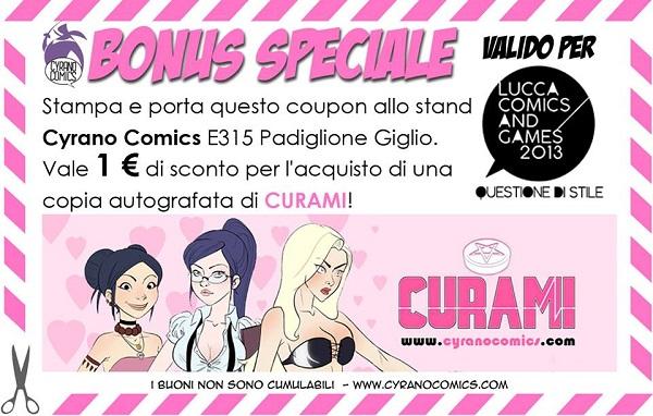 """Cyrano e Noèin:03 a Mantova Comics 2013 con il volume """"Curami"""""""